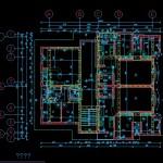 دانلود پروژه طراحی فنی ساختمان با جزئیات کامل