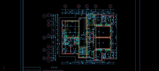 تصویر پروژه طراحی فنی ساختمان با جزئیات کامل دانلود پلان نما برش نعل درگاه وال سکشن