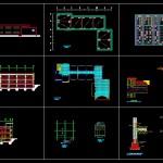 دانلود پروژه طراحی فنی مدرسه فاز ۲ شده