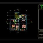 دانلود پروژه طراحی فنی آپارتمان ۱طبقه ۱ واحد فاز ۲ شده