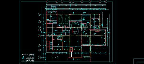 تصویر پروژه طراحی فنی ساختمان
