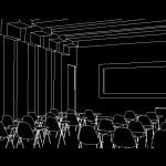 دانلود ۳D داخلی کلاس