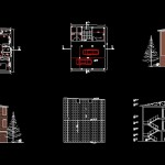 دانلود پروژه آپارتمان ۲ طبقه-۲واحده