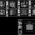 دانلود پلان آپارتمان ۳ طبقه-۶ واحده