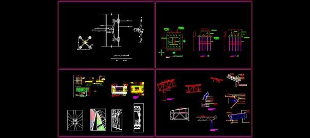 فایل دیتیل سازه فضاکار