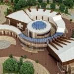 پروژه معماری مرکز گردهمایی هنرهای آئینی