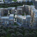 دانلود پروژه طراحی معماری شهرک مسکونی