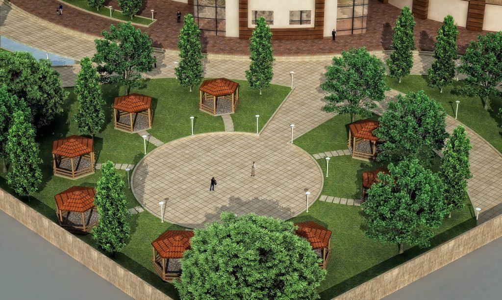 پایان نامه معماری فرهنگسرا و مرکز گردهمایی هنرهای آئینی